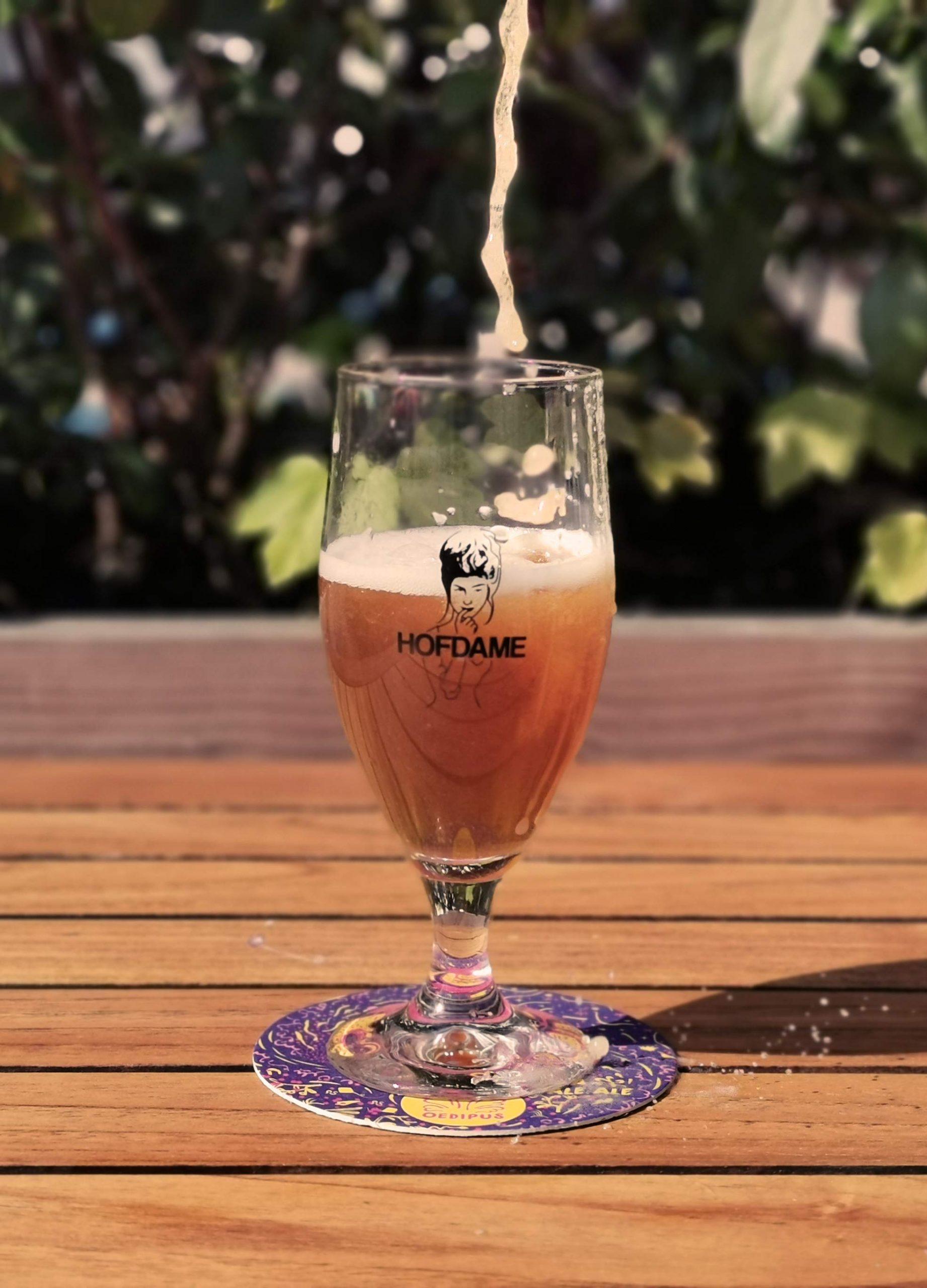 Hofdame-glas